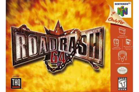 Road Rash 64 Nintendo 64 Game