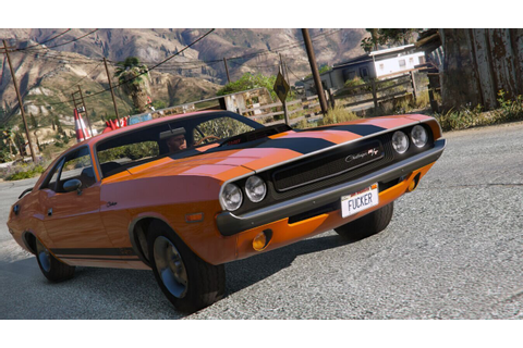 1970 Dodge Challenger RT 440 Six Pack - Grand Theft Auto V ...