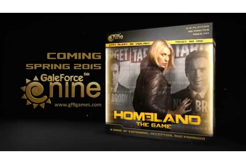 Homeland: The Game Teaser - YouTube