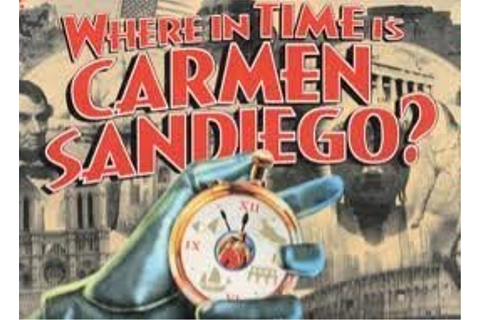 Amazon.com: Where In Time Is Carmen Sandiego; the Mystery ...