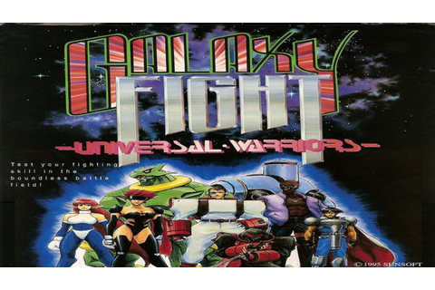 Galaxy Fight - Universal Warriors (Arcade) - YouTube