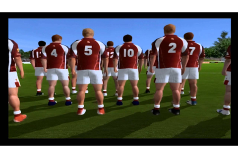 GAA football PS2 gameplay - YouTube
