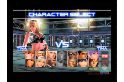 Dead or Alive 2 (DOA2) 2Player gameplay (playstation 2 ...