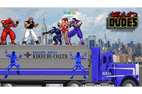 Review – Bad Dudes Arcade ( Switch) | REAL OTAKU GAMER ...