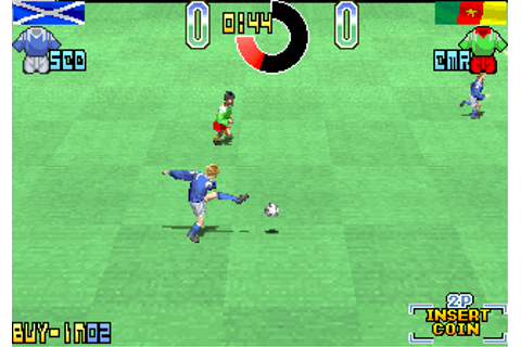 Taito Power Goal, Taito F3 cart. by Taito (1994)