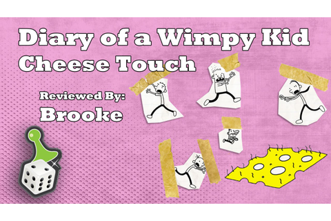 Board Game Review: Diary of a Wimpy Kid Cheese Touch - YouTube