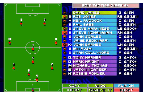 Sensible World of Soccer Download (1995 Sports Game)
