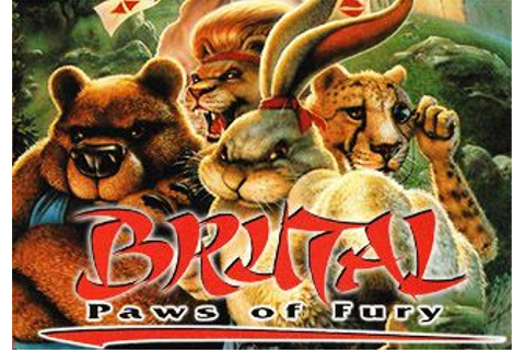 Brutal: Paws of fury - Symbian game. Brutal: Paws of fury ...