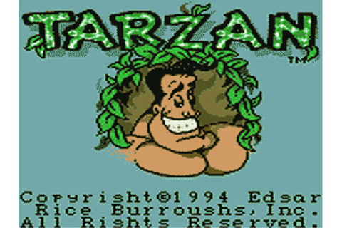 Tarzan: Lord of the Jungle Details - LaunchBox Games Database