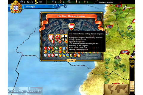 Europa Universalis III Free Download - Ocean Of Games