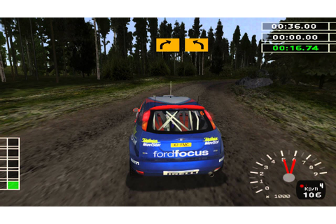 PCSX2 Emulator - WRC 2 Extreme - Rally Finland Gameplay ...