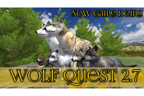 New Wolf Quest Game Demo!! 🐺 Wolf Quest 2.7 Demo - YouTube