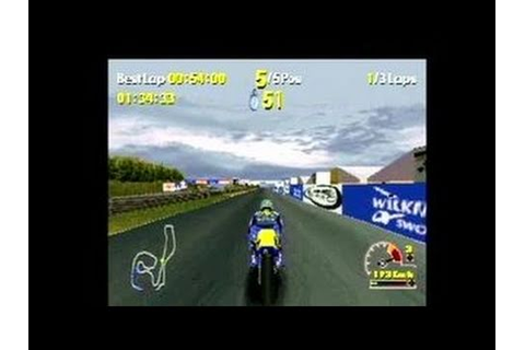 Moto Racer World Tour PlayStation Gameplay - YouTube