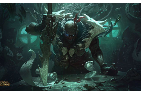Wallpaper League of legends, warrior, video game, pyke ...