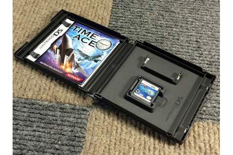 2008 TIME ACE NINTENDO DS VIDEO GAME COMPLETE IN BOX CIB ...