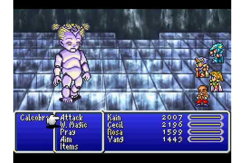 Game Boy Advance Longplay [108] Final Fantasy IV Advance ...