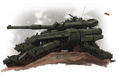 soviet main battle tank idea for game image - THE GREAT ...
