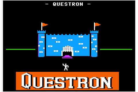 Questron (1984) by SSI Apple II E game
