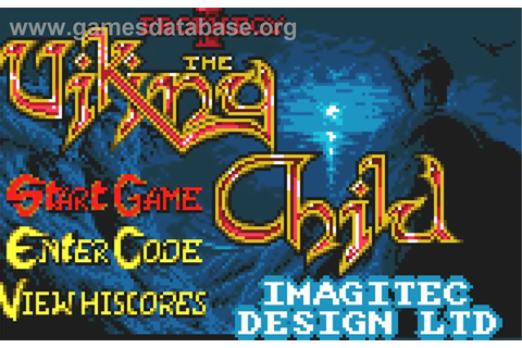 Prophecy 1: The Viking Child - Atari Lynx - Games Database