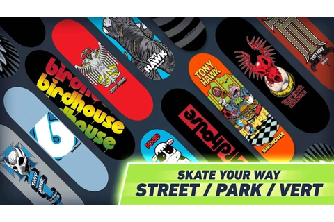 Become skateboard legend Tony Hawks on your smartphone ...
