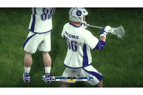 Casey Powell Lacrosse 16 Review (PS4) - YouTube