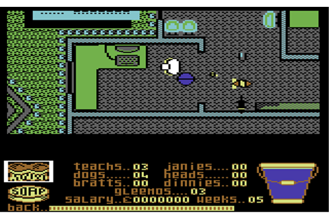 Mrs. Mop - Commodore 64 Game / C64 Games, C64 reviews ...