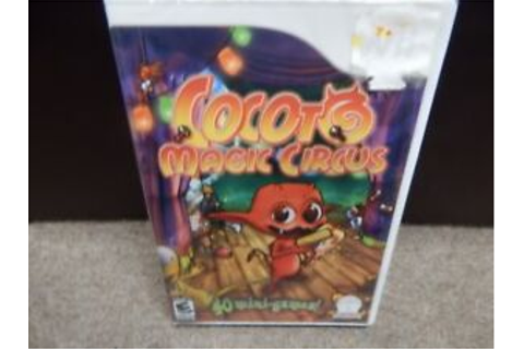 Cocoto Magic Circus - Nintendo Wii Video Game - NEW ...