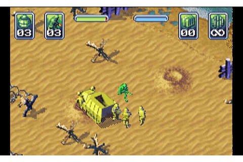 Play Army Men – Operation Green • Game Boy Advance GamePhD