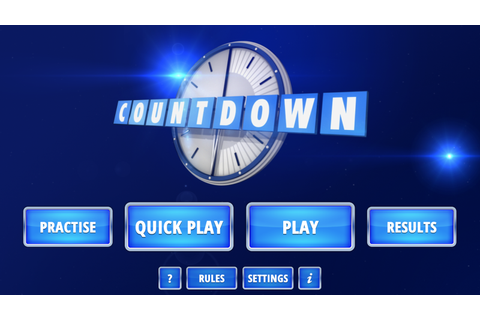 Countdown - The Official App - Android Apps on Google Play