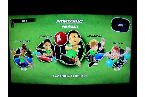 Kinect Adventures Includes Underwater, Space Games, Online ...