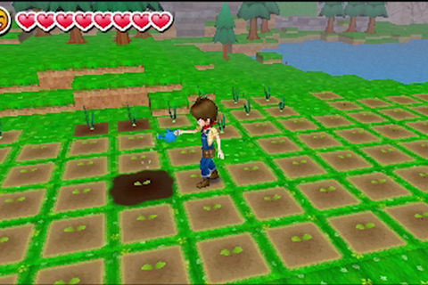 Preview of the video game Harvest Moon A New Beginning by ME