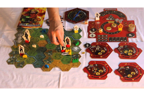 Fire Brigade - cooperative firefighting board game ...