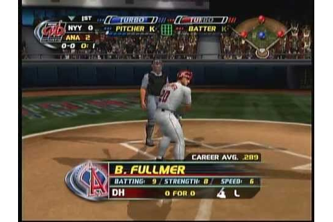 MLB Slug Fest 20-04 (X Box) Game Play - YouTube