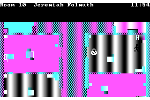 Murder on the Zinderneuf (1984) by K-BYTE MS-DOS game