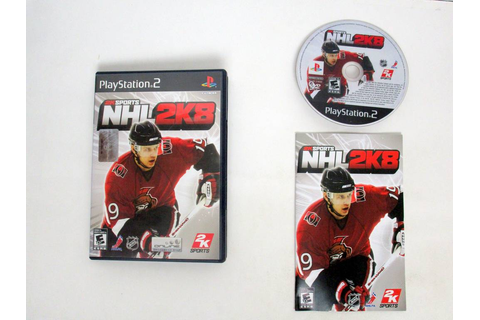 NHL 2K8 game for Sony PlayStation 2 | The Game Guy