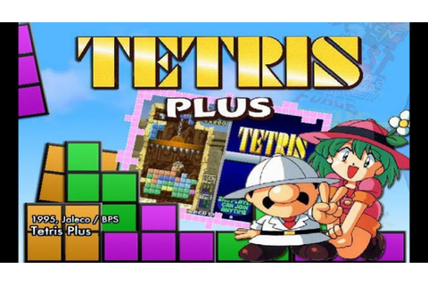 Tetris Plus (1995) Jaleco Mame Retrô Arcade Games - YouTube