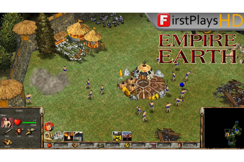 Empire Earth (2001) - PC Gameplay / Win 10 - YouTube