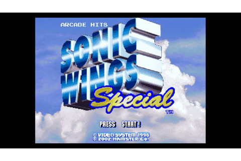 Sonic Wings Special Longplay (Playstation) - YouTube