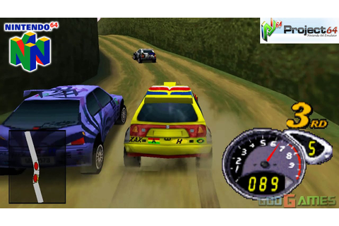 Top Gear Rally 2 - Gameplay Nintendo 64 1080p (Project 64 ...
