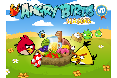 Download Angry Birds Seasons Game Full Version For Free