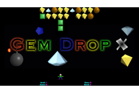 Gem Drop X, Magic Drop III-like game - YouTube