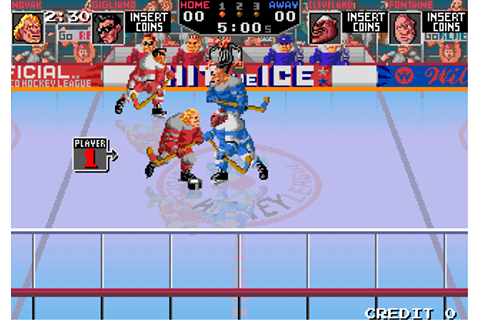 Hit The Ice - Videogame by Williams Electronic Games, Inc ...