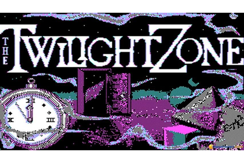 Twilight Zone gameplay (PC Game, 1988) - YouTube