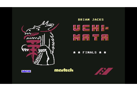 Uchi-Mata - Commodore 64 - YouTube