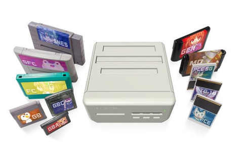 Retro Freak Multi Cartridge Console Also Rips Games ...