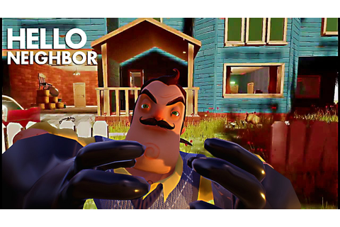 Hello Neighbor FULL Game MOVIE | All Cutscenes So Far ...