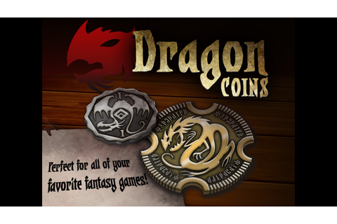 Metal Dragon Coins by Minion Games —Kickstarter