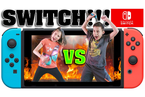 NINTENDO SWITCH CHALLENGE!!! Head to Head Battle with 1-2 ...