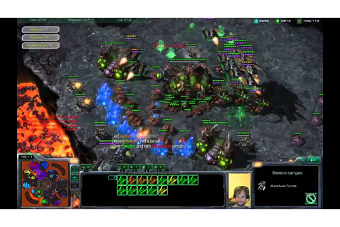 Phantom Mode as Slayer - Custom Game - Starcraft 2 - YouTube