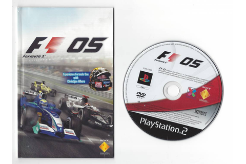 Formula One 05 for Playstation 2 PS2 - worldwide shipping ...